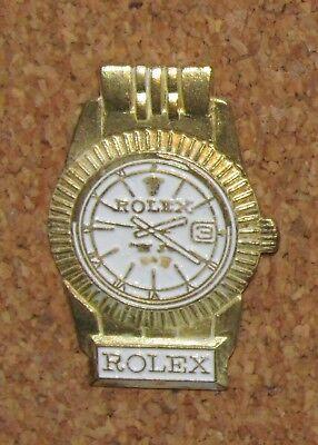 D27 OTHER PIN DISNEY WATCH ROLEX PARIS PINBACK MONTRE NO1