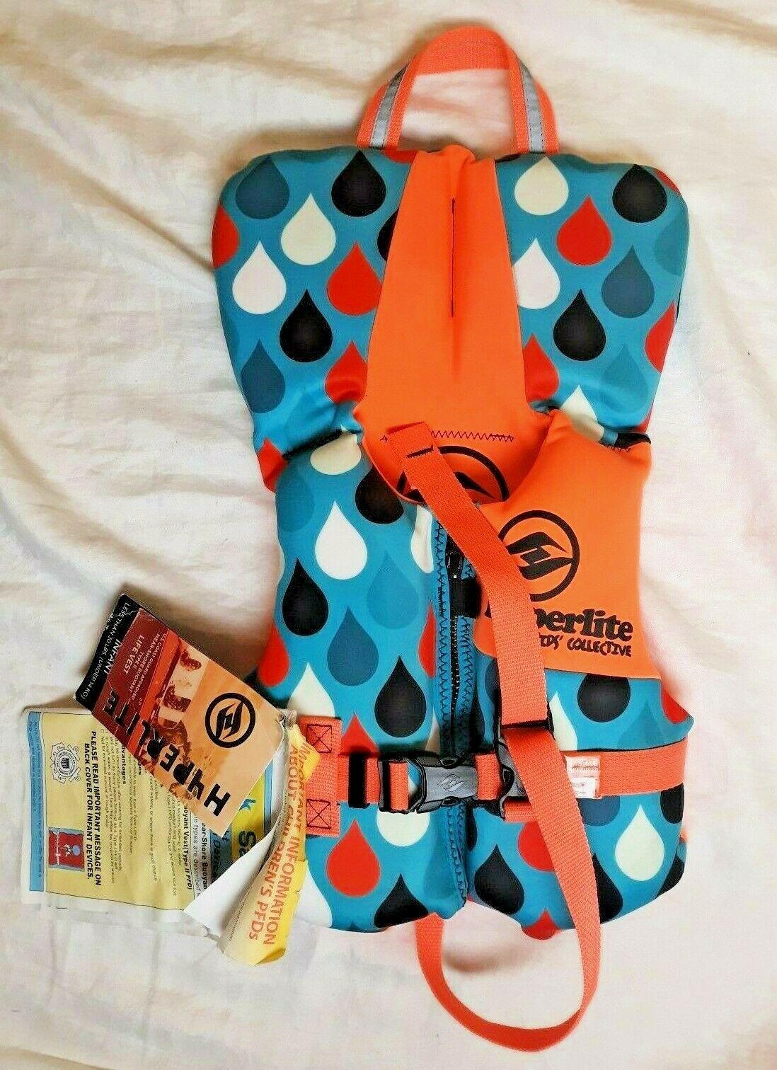 Hyperlite Infants Type II Life Vest, USCG Approved Personal