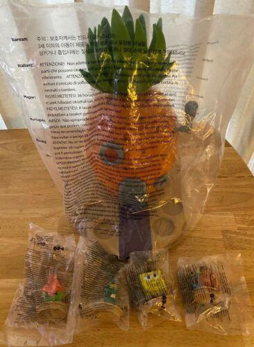 NEW Spongebob Sponge on the Run Collector Deluxe Popcorn Bucket w/ Figures -RARE
