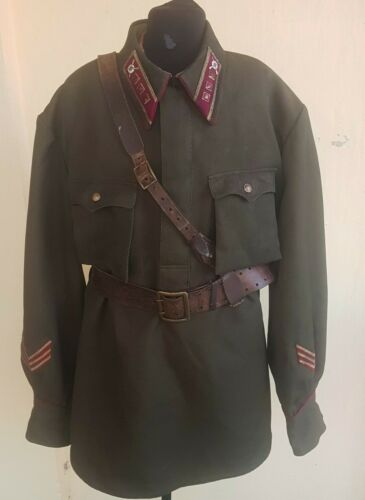 Tunic Red Army Infantry Troops Officer Senior Leutinant 1941 Stalingrad WW2 WWII