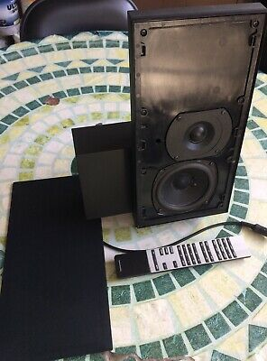 Bang & Olufsen 1 Right BeoLab 2500  Black speaker & 1 Remote For Beosystem 2300