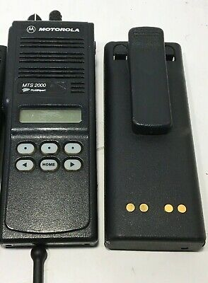 1 Motorola Mts2000 Portable 2-way Radio H01uch6pw1bn Not Programmed