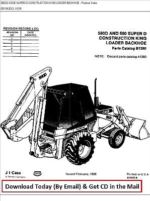 Heavy Equipment Parts Amp Accs Case 580 Backhoe