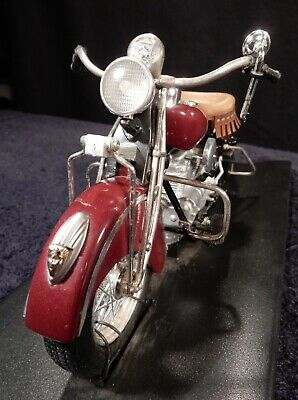 Rare Franklin Mint Die Cast 1942 -Vintage Indian Motorcycle Model 442