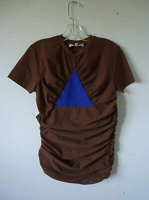 Walter van Beirendonck WITBLITZ S/S2020 shirt L NWoT shirred top RUNWAY
