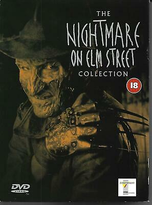 A Nightmare on Elm Street, Collection Parts 1-5, DVD Box Set, great