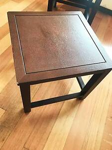 4 Set of square stools $40 for all Surry Hills Inner Sydney Preview