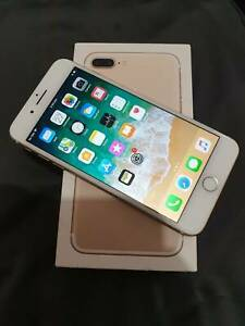 Apple iphone 7 plus 32GB Gold AS NEW Condition
