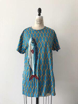 ⭕ 80s Vintage Kansai Yamamoto Fish Shirt : dress jacket avant grade japanese 90s