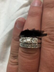 Wedding ring set for sale