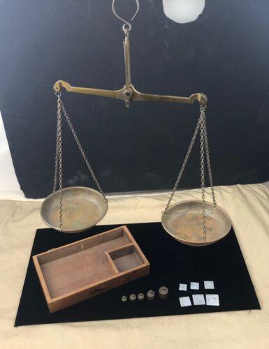 Antique Mining Scales