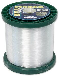 Billfisher mono fishing line clear 200 lb test ebay for Fishing line test