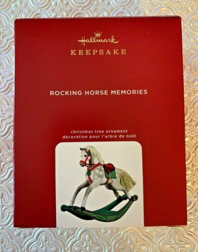 "Hallmark Keepsake Ornament 2020 ""Rocking Horse Memories"" 1st in Series ~ New"