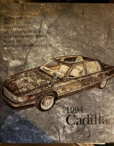 1994 Cadillac Media Information Book w/ Photos & Slides - Dealer