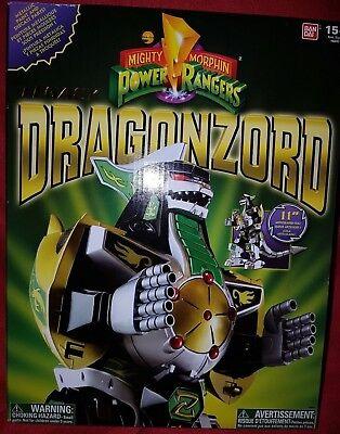 Mighty Morphin Power Rangers Legacy Dragonzord |BRAND NEW SEALED Bandai