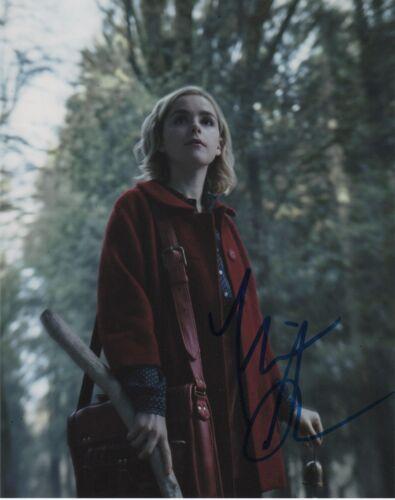 Kiernan Shipka Chilling Adventures Sabrina Autographed Signed 8x10 Photo COA 01V