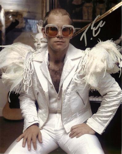 Taron Egerton Signed Elton John Rocketman 8x10 Photo B EXACT Proof COA Kingsmen