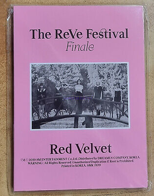 RED VELVET SMTOWN OFFICIAL GOODS The ReVe Festival Finale POSTCARD BOOK SEALED
