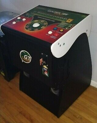Golden Tee Golf Live 2019 Home Arcade Game With Monitor Stand