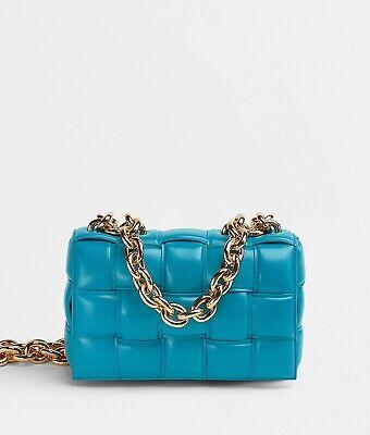 2021 Bottega Veneta Chain Cassette Bag 'MALLARD'