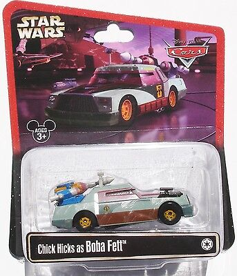 ++ Disney Pixar Cars - Star Wars - Chick Hicks as Boba Fett