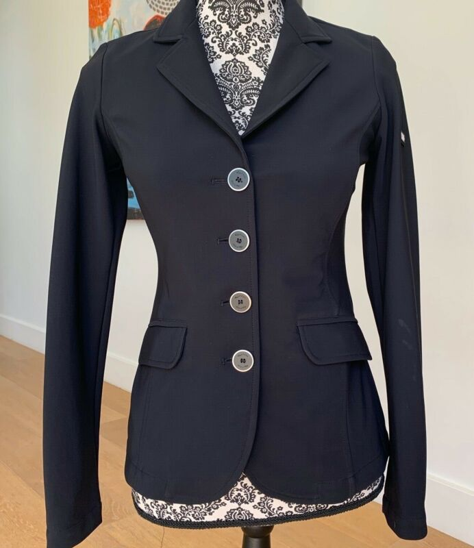 Iago Dahlia Show Coat, made in Italy, lightweight, US2, perfect cond, orig $625