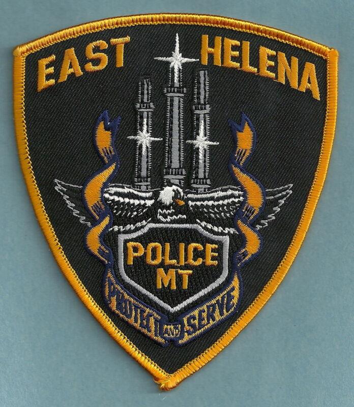 EAST HELENA MONTANA POLICE SHOULDER PATCH