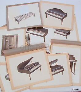 vintage-Group-of-advertising-mockup-Schoenhut-Toys-PIANO-doll-furniture-etc