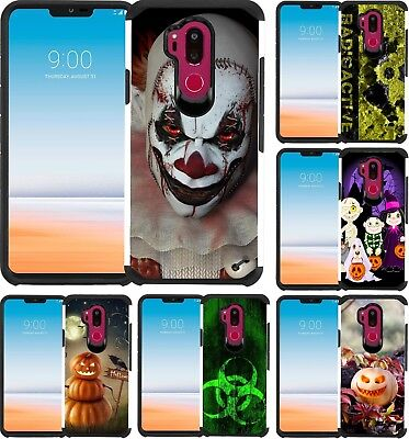 For LG G7 ThinQ Case Phone Cover Scary Clown Trick or Treat Halloween