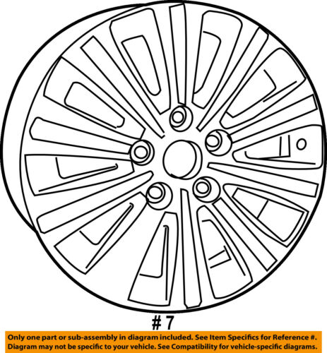 Chrysler Oem Wheel Alloy Aluminum 1sp67gsaab