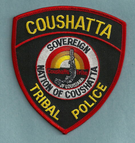 COUSHATTA LOUISIANA TRIBAL POLICE SHOULDER PATCH