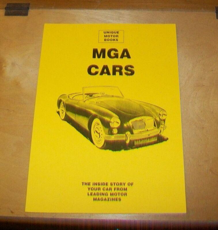 MGA+CARS+ROAD+TEST+%26+SERVICING+OVERHAUL+REPRINT+BOOK.+UMB+PRESS.+TWIN+CAM+1600