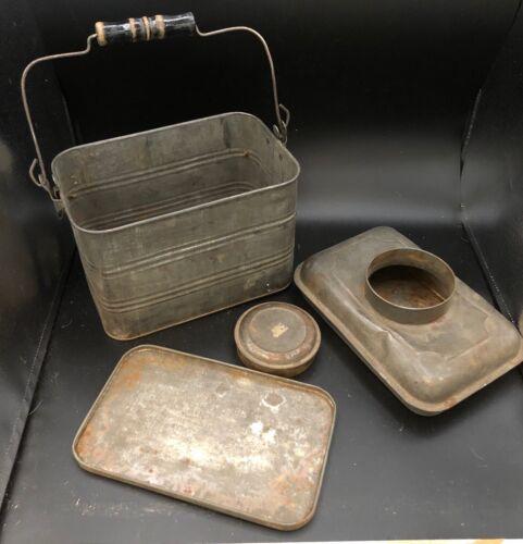 Antique Mining Collectibles, Bisbee Arizona, Miners Lunchbox
