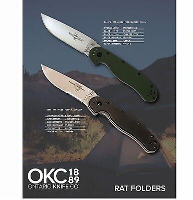 Ontario Knife Company RAT Model 1 Folder Combo Pack - Knife Combo Pack