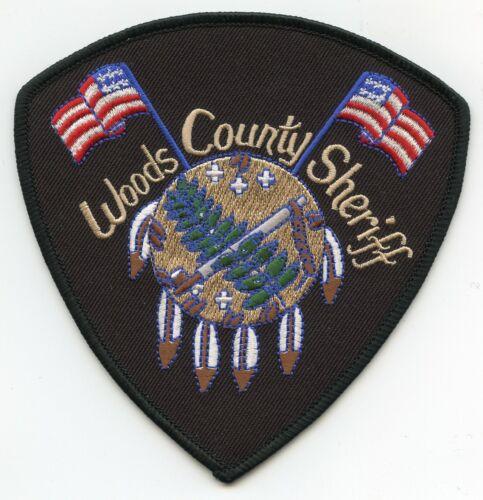 WOODS COUNTY OKLAHOMA OK SHERIFF POLICE PATCH