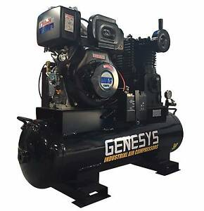Diesel Air Compressor - 20 CFM 120 Lt -*Cast Iron* -11HP - 145PSI Kewdale Belmont Area Preview