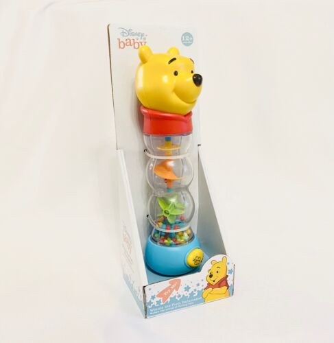 Disney Baby Winnie The Pooh Rainmaker Toy - New