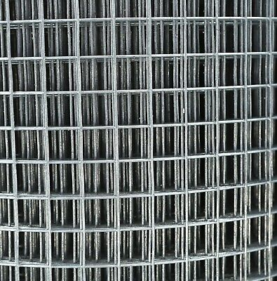 0.9m x 30m GALVANISED WELDED WIRE MESH 1