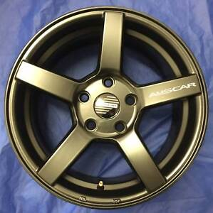 SET OF FOUR (4) AUSCAR 15x6.5 5/114.3 et38 VANTAGE Tweed Heads South Tweed Heads Area Preview