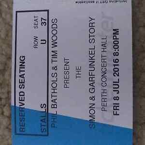 Simon & Garfunkel story concert tickets South Lake Cockburn Area Preview
