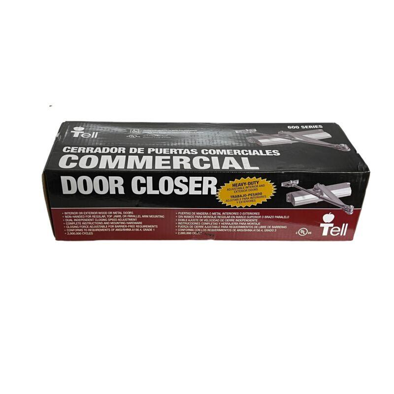 Tell Adjustable Commercial Door Closer Hydraulic Grade 1 DC100148