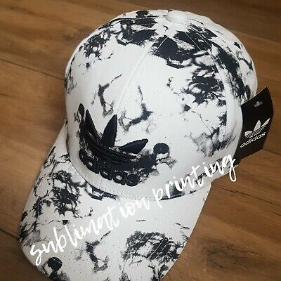 Adidas White And Black Baseball Cap