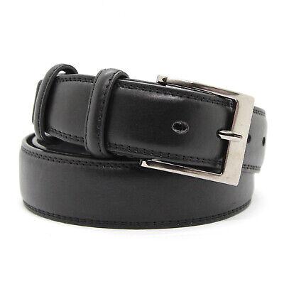 Cintura Uomo in Vera Pelle Cuoio Cinta Casual Classica Accorciabile C-006