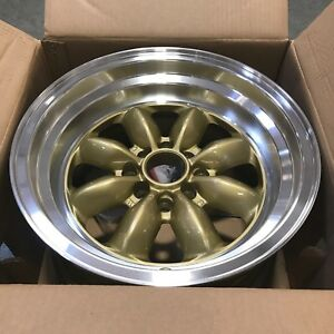 XXR Wheel 513 15x8 ET +0 Gold Machine Deep Dish Lip Rim 4x100 4x114.3 4x4.5