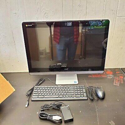 "Acer Chromebase AIO Desktop, 23.8"" FHD, Celeron 3215U, 4GB RAM, 16GB SSD, Chrome"