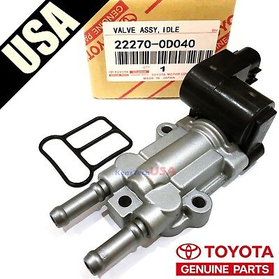 - Genuine Denso TOYOTA Idle Air Control Valve IAC Valve with Gasket 22270-0D040