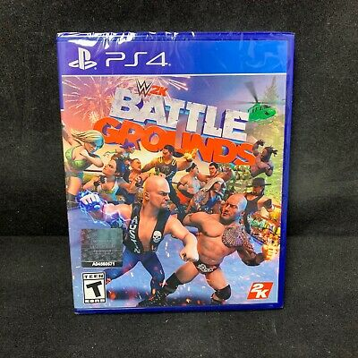 WWE 2K Battlegrounds  (PS4/ PlayStation 4) BRAND NEW