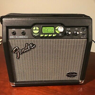 Fender G-DEC Guitar Amplifier. Great Condition!  Bring the Drummer with you!