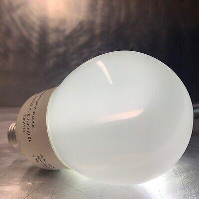 Lot of SIX (6) Spartan Energy-Saving 15 Watt Compact Fluorescent Bulbs * CFL