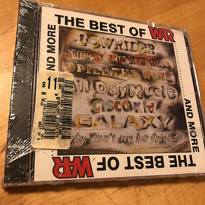 WAR The Best of War and More (CD, Dec-1987, Rhino) BRAND NEW & FACTORY SEALED